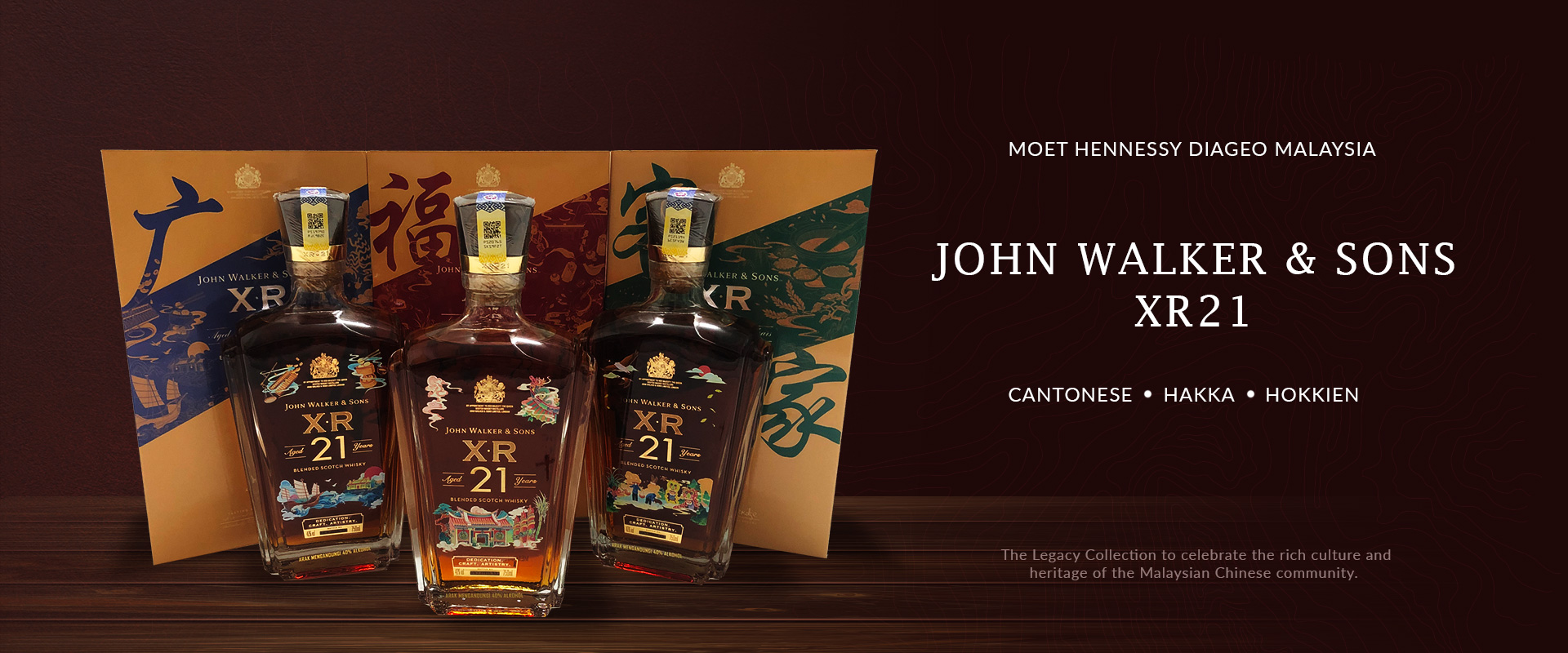 Jon Walker & Sons XR 21 Chinese Dialect Collection